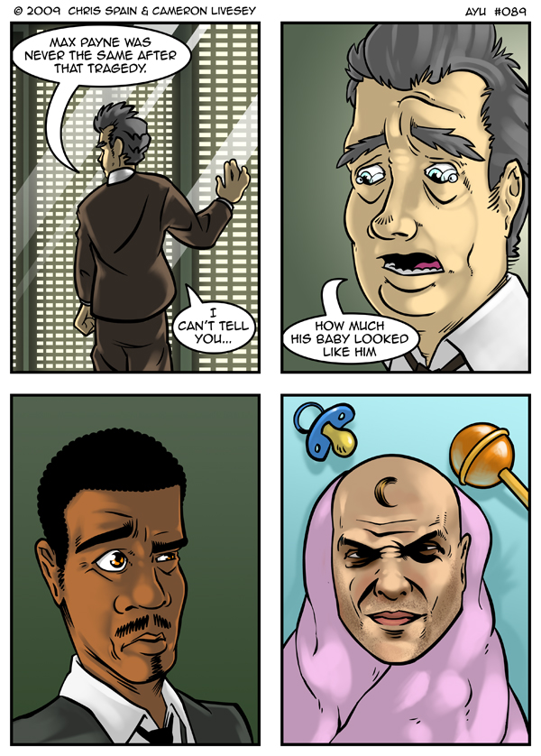 If someone made a mod for Max Payne based on that last panel, I'd play through that whole game again in an instant