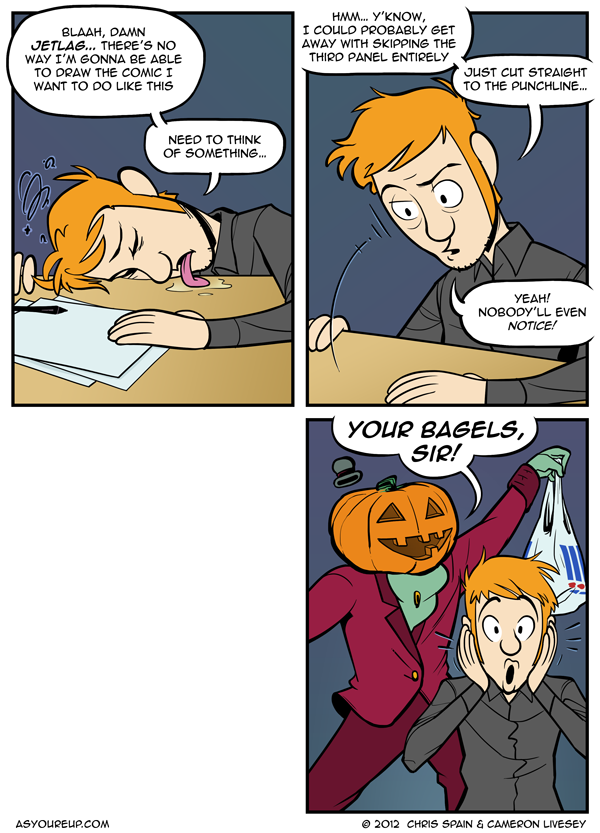 It's probably for the best; that third panel got pretty lascivious...